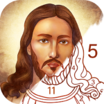 Bible Coloring – Paint by Number, Free Bible Games  MOD 2.22.0 ( Bible Coloring Monthly Premium)