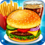Fast Food  Cooking and Restaurant Game 1.2 MOD (Small Gems Pack)