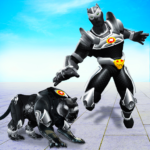 Flying Panther Robot Hero Game:City Rescue Mission  3.1 MOD (Unlock All Robots)