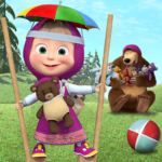 Free games: Masha and the Bear 1.4.6 MOD (Remove ads. Unlock Games)
