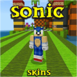 Skins Sonic for MCPE 2.11 MOD (Skins for Minecraft)