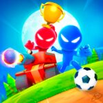 Stickman Party: 1 2 3 4 Player Games Free 2.0.3 APK MOD (Unlimited Coins)