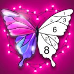 Tap Color Lite : Color by Number. Coloring Games  MOD 4.1.1 ( Tap Color Lite Monthly Premium)