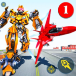 Air Robot Game 2.5 MOD (Unlimited gold bullions)