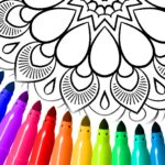 Mandala Coloring Pages 16.5.8 MOD (Buy All Coloring Book Features)