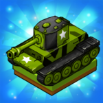 Merge Tanks: Awesome Tank Idle Merger 2.4.8 MOD (Unlimited Gems)