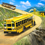 Offroad School Bus Driving: Flying Bus Games 2020 1.44 MOD