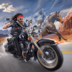 Outlaw Riders: War of Bikers  0.3.4 MOD