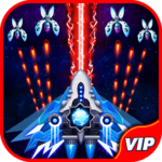 Space Shooter: Alien vs Galaxy Attack (Premium)  1.512 MOD (Unlimited Crystals)