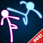 Stickman Fighting: 2 Player Funny Physics Games 1.9 MOD