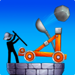 The Catapult 2: Grow Castle・Tower Defense・Stickman 5.0.9 MOD (Unlimited Coins)