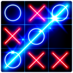Tic Tac Toe Glow 8.6.0 MOD (Ad Banner Removal)