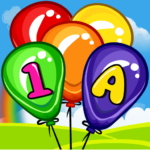 Balloon Pop Kids Learning Game Free for babies 9 MOD (No Ads)