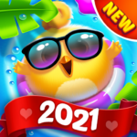 Bird Friends : Match 3 & Free Puzzle 1.7.8 MOD (Unlimited Coins)
