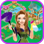 Home Cleaning and Decoration in My Town: Help Her 1.1.0 MOD (Unlock All Levels)