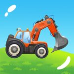 Build a House with Building Trucks! Games for Kids 1.12 MOD (All trucks)