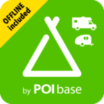 Camping.Info Navi by POIbase Campsites & Pitches V7.3.1  MOD (Camping PRO)