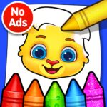 Coloring Games: Coloring Book, Painting, Glow Draw 1.1.5 MOD