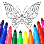 Girls games: Painting and coloring  16.4.4  MOD (Colorfy Plus)