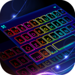 Led Neon Color Keyboard Theme 1.0  MOD (All Backgrounds)