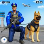 Police Dog Airport Crime Chase : Dog Games  MOD (Remove Ads) 4.4