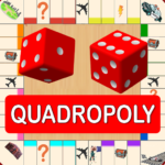 Quadropoly Best AI Board Business Trading Game 1.78.87 MOD