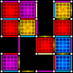 Dots and Boxes (Neon) 80s Style Cyber Game Squares 2.1.34 MOD