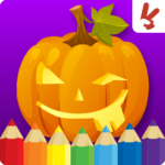 Kids coloring book halloween 1.5.0 MOD (Remove Ads)