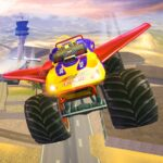 Offroad Flying Monster Truck Driving 1.5 MOD