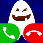 fake call with cute ghost game 13.0 MOD (Unlimited Premium)