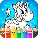 Coloring pages for children: animals  MOD (Unlimited Money)1.1.1