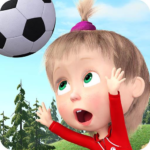 Masha and the Bear: Football Games for kids  MOD (Unlimited Money)1.3.8