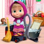 Masha and the Bear: House Cleaning Games for Girls  MOD (Unlimited Money)2.0.2