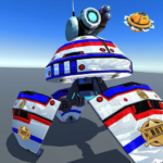 US Police Robot Shooting Crime City Game  MOD (Unlimited Money)3.1