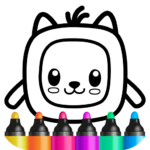 Pets Drawing for Kids and Toddlers games Preschool 1.2.2.7 MOD (Buy all)