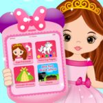 Pink Little Talking Princess Baby Phone Kids Game 9.0.2 MOD (Unlimited subscription)